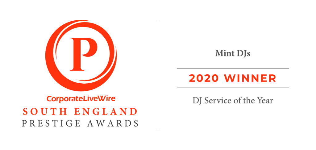 2020 Winner of the DJ Service of the Year, South England Prestige Award